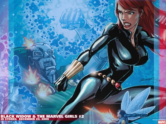 Black Widow &amp;amp; the Marvel Girls (2009) #2 Wallpaper