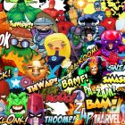 Stickers included in the Marvel Level Kit in LittleBigPlanet