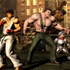 Haggar, Ryu and Arthur from Marvel vs. Capcom 3
