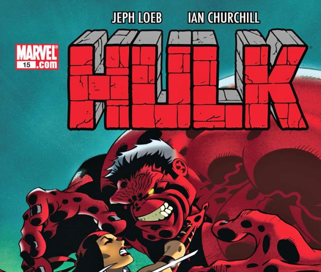 Cover: Hulk (2008) #15