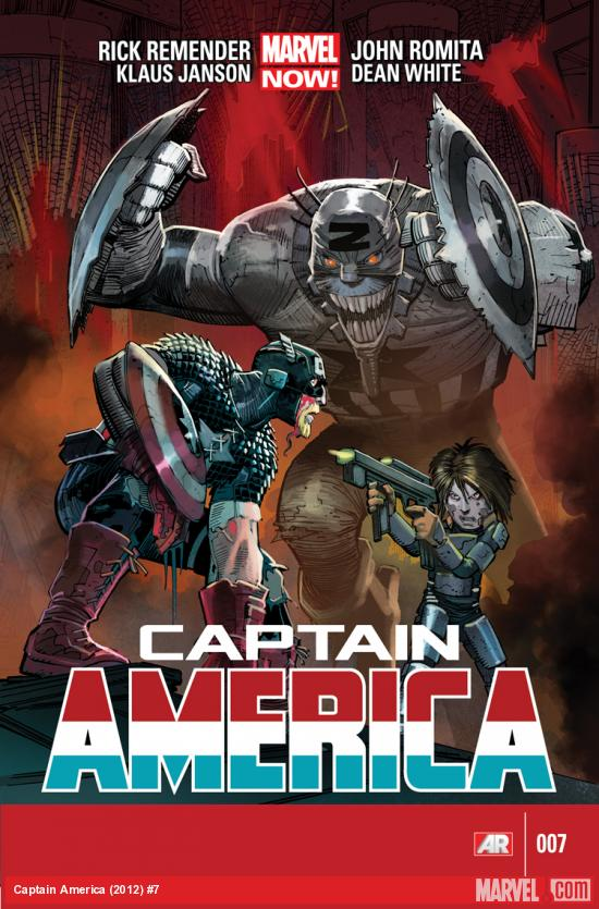 CAPTAIN AMERICA 7 (NOW, WITH DIGITAL CODE)