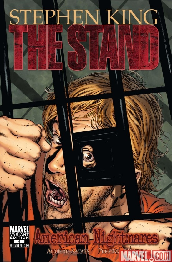 THE STAND: AMERICAN NIGHTMARES #4 Perkins Variant