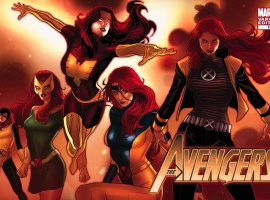 Avengers (2010) #13 variant cover by Paul Renaud