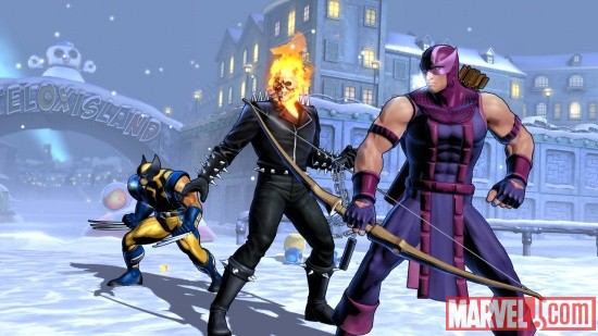Team Marvel in Ultimate Marvel vs Capcom 3 by Capcom