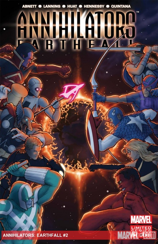 Annihilators: Earthfall (2011) #2