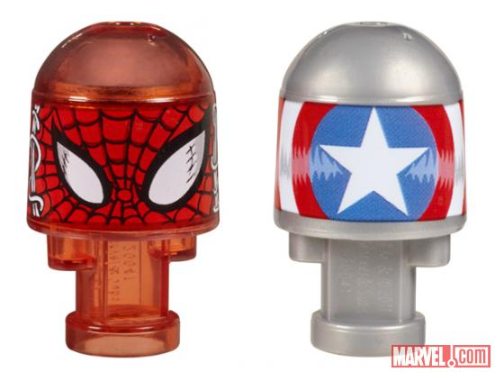 Spider-Man and Captain America's Shield Marvel Bonkazonks