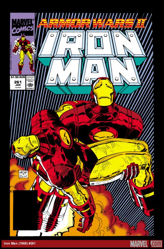 Iron Man (1968) #261 Cover