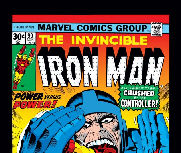 Iron Man (1968) #90 Cover