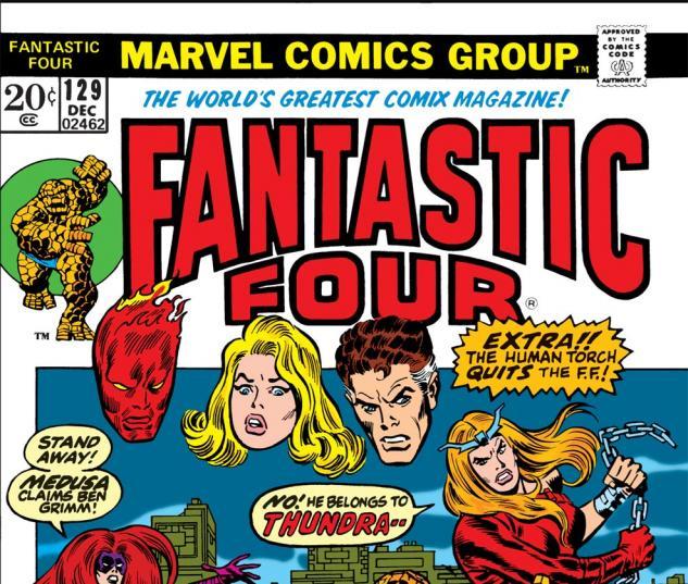 Fantastic Four (1961) #129 Cover