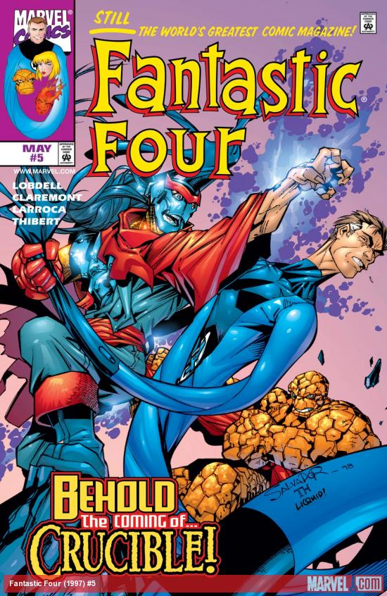 Fantastic Four (1997) #5 Cover
