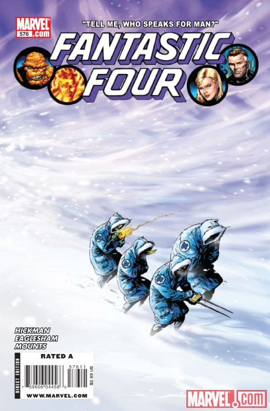 FANTASTIC FOUR #576 Cover by Alan Davis