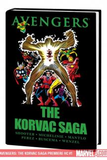 Avengers: The Korvac Saga (Hardcover)