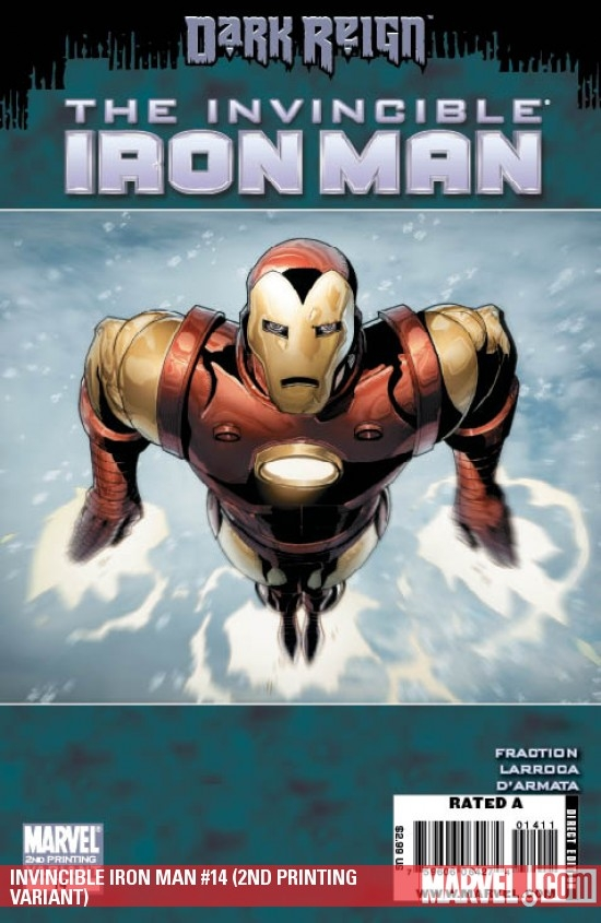 INVINCIBLE IRON MAN #14 (2ND PRINTING VARIANT)