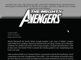 MIGHTY AVENGERS #26, Recap Page