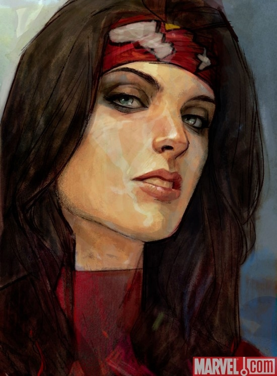 Spider-Woman art by Alex Maleev