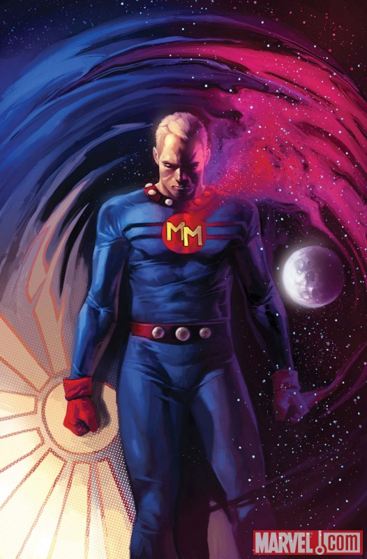 MARVELMAN FAMILY'S FINEST #1 cover by Marko Djurdjevic