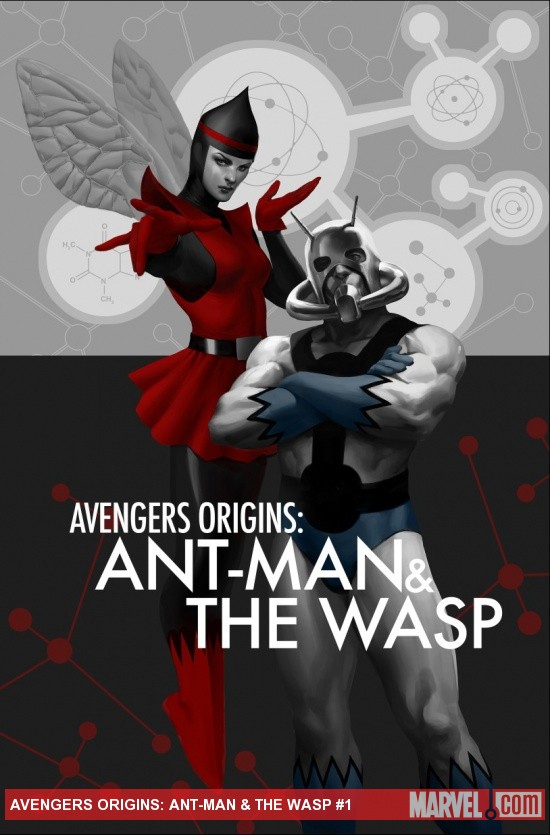 Avengers Origins: Ant-Man & The Wasp cover