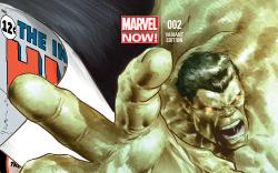 cover from Indestructible Hulk (2012) #2 (DEODATO VARIANT)