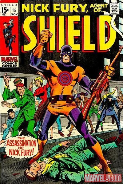 Nick Fury, Agent of Shield (1968) #15
