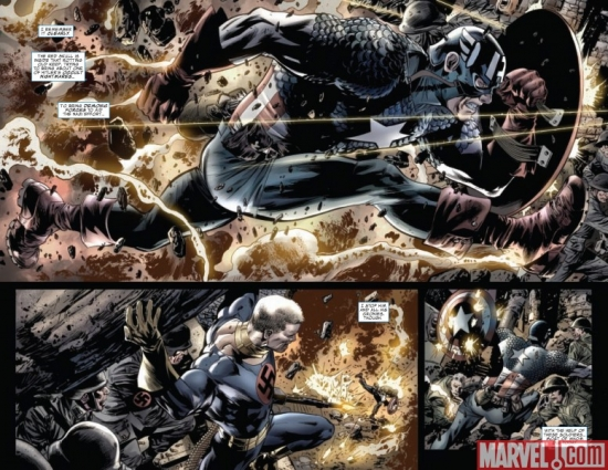 CAPTAIN AMERICA: REBORN #2, pages 1-2