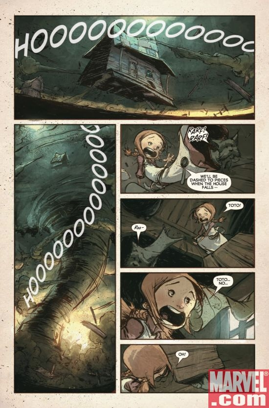 THE WONDERFUL WIZARD OF OZ #1, page 5