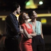 Tom Hiddleston, Scarlett Johansson and Cobie Smulders at D23 2011