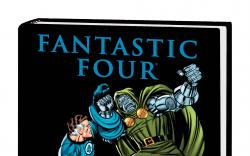 FANTASTIC FOUR: THE OVERTHROW OF DOOM PREMIERE HC VARIANT (DM ONLY)