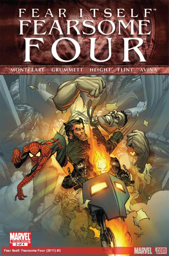 Fear Itself: Fearsome Four (2011) #3