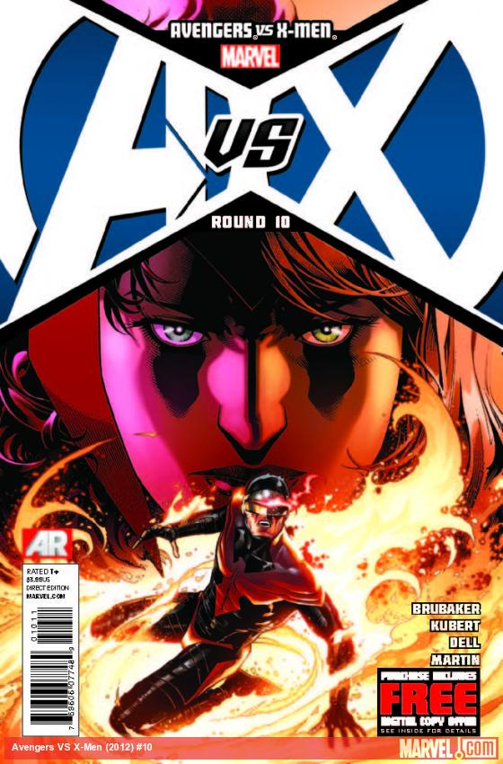 AVENGERS VS. X-MEN 10 (WITH DIGITAL CODE)