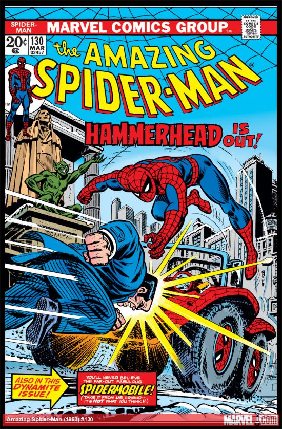 Amazing Spider-Man (1963) #130 Cover