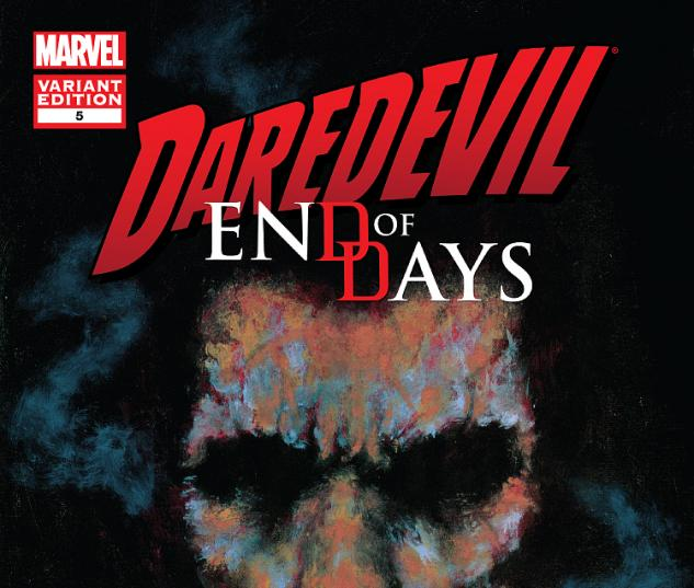 Cover: Daredevil End of Days (2012) #5 (Mack Variant)