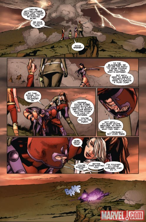X-MEN LEGACY #232 Recap Page