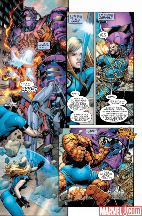 FANTASTIC FOUR #570, page 4