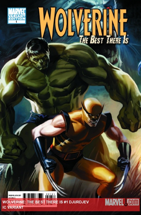 Wolverine: The Best There Is (2011) #1, DJURDJEVIC VARIANT