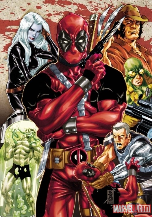 Deadpool by Mark Brooks
