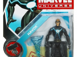 Havok 3 3/4 Inch Marvel Universe Action Figure from Hasbro, Wave 8