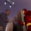 Iron Man and the Black Panther in Iron Man: Armored Adventures