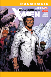 Wolverine & the X-Men (2011) #3 (Wraparound 2nd Printing Variant)