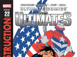 cover from Ultimate Comics Ultimates (2011) #22