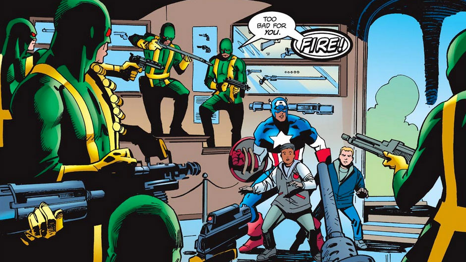 90's By The Numbers: Captain America #3