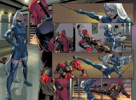 Deadpool #1 preview art by Mike Hawthorne