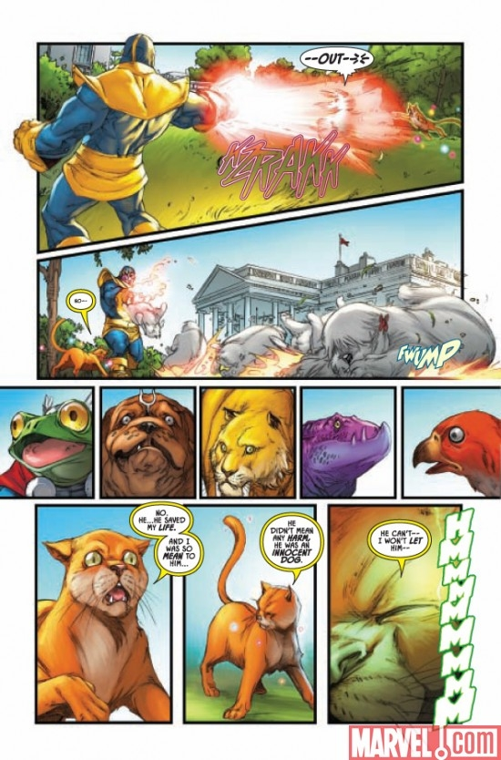 LOCKJAW AND THE PET AVENGERS #4, page 4