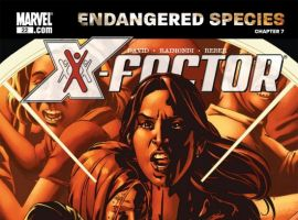 X-MEN: ENDANGERED SPECIES BACK-UP STORY #7