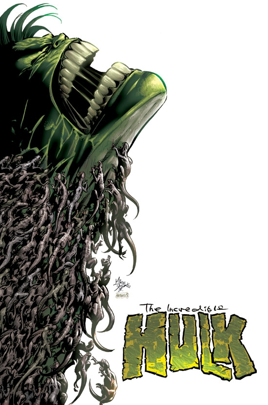 INCREDIBLE HULK (2004) #63 COVER