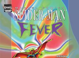 SPIDER-MAN: FEVER #3 cover by Brendan McCarthy