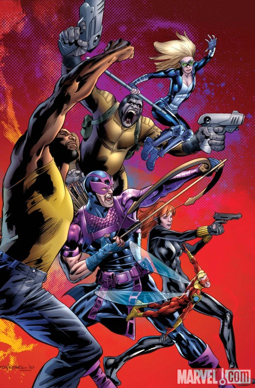 ENTER THE HEROIC AGE #1 cover by Bryan Hitch