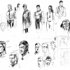 Route 666 design sketches by Peter Nguyen