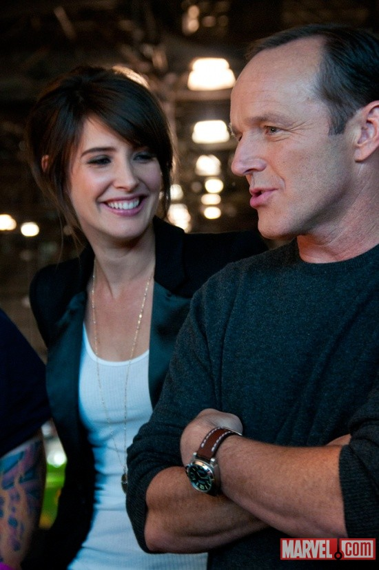New York Comic Con 2011: Cobie Smulders & Clark Gregg on Marvel.com Live