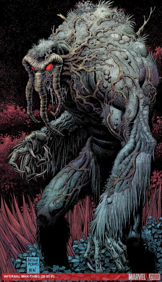 Infernal Man-Thing #3 Cover