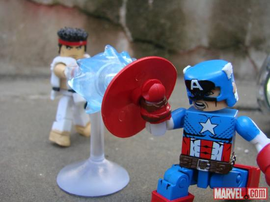 Diamond Select Toys Marvel VS Capcom Minimates